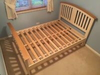 Solid oak top bedroom furniture set