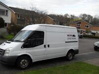 MAN AND A VAN SERVICE HOUSE GARDEN GARAGE OR FLAT CLEARENCES GARDEN WASTE DELIVERIES COLLECTIONS ETC