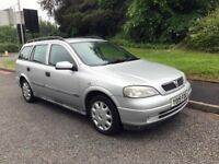 Vauxhall Astra 1.6i Club (a/c). AUTOMATIC. 1 OWNER. 1 year MOT! Modified for disabled use as well