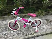 Child/toddler unicorn print girls bike