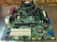 Acer F671CR LGA775 motherboard bundle with Intel Core 2 Duo E4500 CPU + 2GB RAM and Cooler