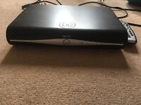 Sky+ HD box with controller, power cable and hdmi cable.