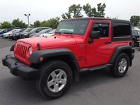 2013 Jeep Wrangler Sport 4X4 A/C MAGS