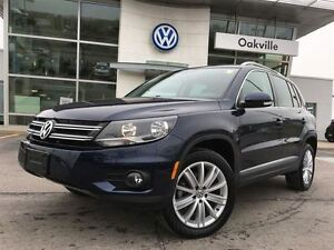 2016 Volkswagen Tiguan AWD/NAV/LTHR/SUNROOF/BACK-UP CAM/1 OWNER!