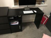 Office desk and draws