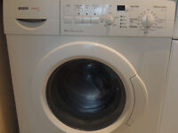Bosch Exxcel 1200 spin washing machine white with delayed start and >12 programmes/options