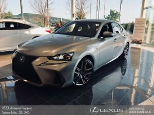 2017 Lexus IS 300 * F SPORT 2 * NAV * AWD * 255 HP *