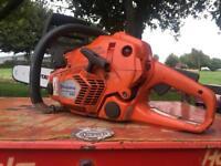 Husqvarna 545 petrol 2 stroke professional chainsaw