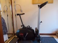 York 2 in 1 Meg cycle / rower- perfect working order