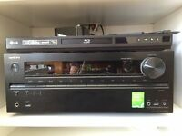Onkyo TX-NR 609 7.2 Channel Home Cinema A/V Receiver plus 5 free LG Mini speakers SH32SDS &subwoofer