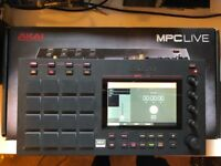 Akai MPC Live Sampler - barely used, original box and upgraded software (2.2)