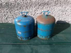 2.72 Calor gas bottles . EMPTY