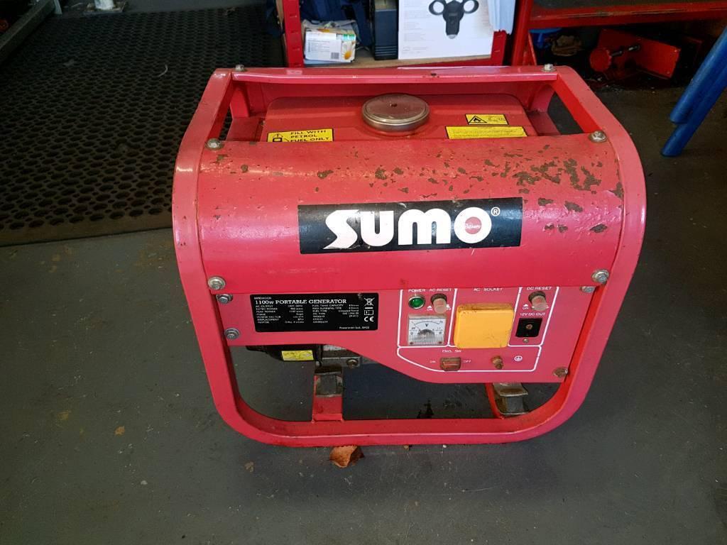 Generator. Sumo. Petrol 1100w.