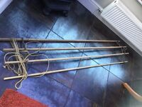 Vintage 6ft pulley clothes airer