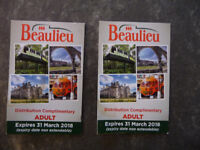 Beaulieu Motor Museum tickets/passes - valid until 31st March '18