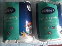 Silent night king size 10.5 tog duvet brand new
