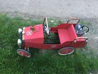 Old kids fire engine £50