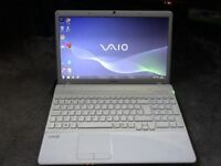 Sony Vaio VPCEB4JOE laptop 6gb ram 15.6inch widescreen with webcam and HDMI in full working order