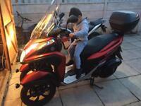 Yamaha trinity 125