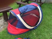 Pop up travel cot deluxe 0-4.5 years