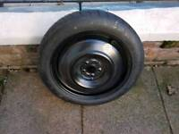 Space saver tyre from Toyota Avensis