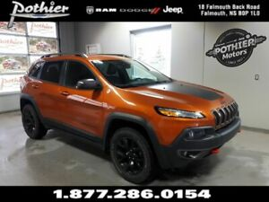 2016 Jeep Cherokee Trailhawk | EXTENDED WARRANTY | LEATHER | REM