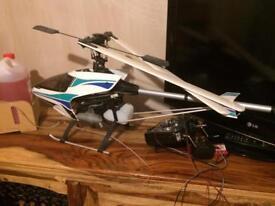 R/c helicopter nitro