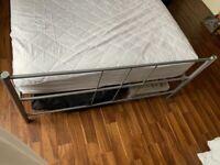 Double bed + duvet + bedding