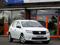 DACIA SANDERO 1.1 AMBIANCE 5dr * Bluetooth + AC + 1 Private Own (white) 2013