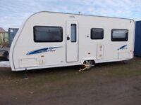 2008 AVONDALE VENETIAN 555/4 Fixed Bed 4 Berth Lightweight Caravan