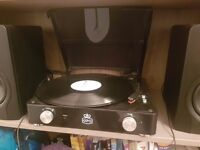 GPO Stylo Turntable/Record Player - Barely used £28