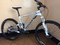 Giant anthem x2 4.0 double suspension custom built mountain bike