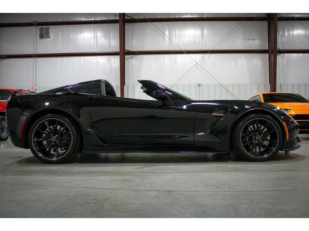 2016 Black Chevrolet Corvette Z06 3LZ   C7 Corvette Photo 6