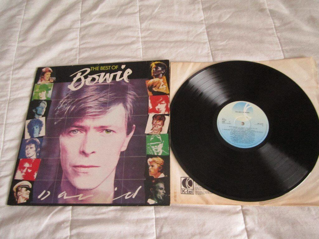 The Best Of Bowie LP Vinyl Very Good Condition