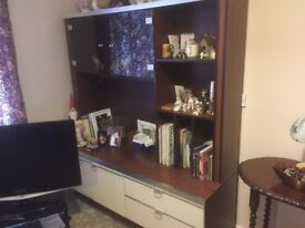 Retro style wall unit - FREE but buyer must collect