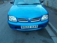 nissan micra,1.0, new mot, drives all good