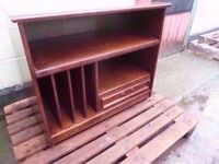 Solid Wood Music Hifi Stand Very Heavy Delivery Available