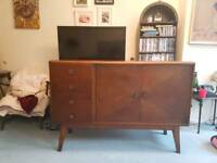 Vintage mid century 50s sideboard/cabinet/chest of draws