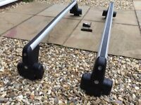 Original roof bars for Passat B5 (98-04) . Very good condition with keys and torque key.