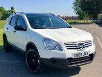 7 Seater -- Nissan Qashqai +2 -- 1.6 Visia -- Part Exchange OK -- Drives Good -- WHITE & Nice