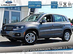 2012 Volkswagen Tiguan **2.0 TSI*AUTOMATIQUE*CRUISE*A/C**