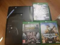 Xbox one 500gb boxed with games