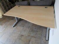 Modern Beech Desk