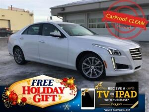 2017 Cadillac CTS 3.6L Luxury AWD (Remote Start, Nav, Heated Lea