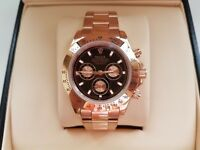 New Swiss Rolex Daytona Rose Gold for sale!
