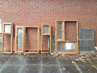 Double Glaze Windows - Golden Oak - Used for 3 years. Excellent Condition.