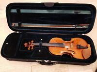 BARGAIN – Handmade Viola ¾ Gamba Style - size 13 - Excellent Condition, perfect sound - Bought new