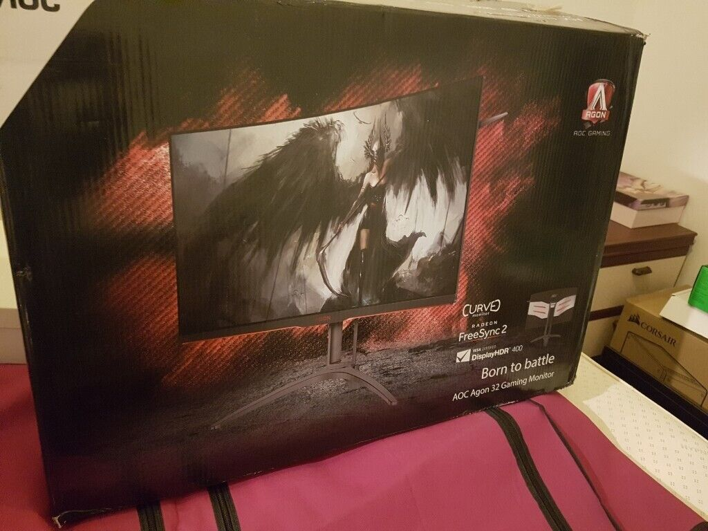 Gaming monitor 32 inch 144hz 2K perfect for ultra gaming | in Sparkhill,  West Midlands | Gumtree