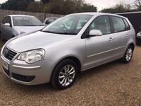 VOLKSWAGEN POLO 1.2 S HATCH 5DR 2007*IDEAL FIRST CAR*CHEAP INSURANCE*GOOD CONDITION* HPI CLEAR