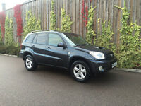 2005 (55) TOYOTA RAV4 2.0 DIESEL MANUAL 5 DR 120K WITH SERVICE HISTORY